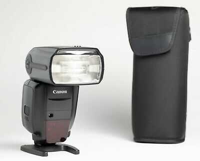 Canon Speedlite 600EX-RT Shoe Mount Flash for  Canon
