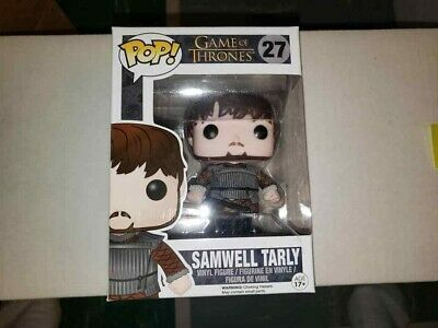 Funko Pop Game Of Thrones Samwell Tarly 27 (Vaulted) *Not Bootleg* W/Protector