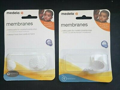 Medela Replacement Spare Membranes Package of 12 in Style 87088 2 Pack of 6