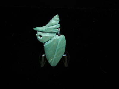 Pre-Columbian Avian Bird Pendant, Very Rare, Authentic, Central America