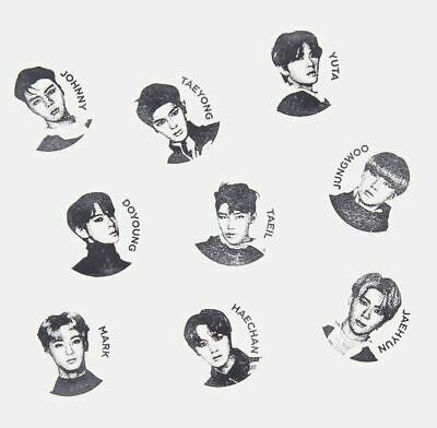 Nct 127 We Are Superhuman Smtown Official Goods Photo Stamp + Photocard New