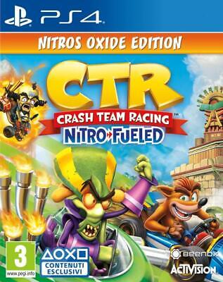 Crash Team Racing Nitro-Fueled Nitros Oxide Edition Ps4 Eu Eng Crash Bandicoot