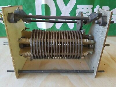 Massive roller inductor, pull out of 10KW broadcast transmitter