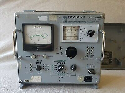 RARE! Absolutely stunning Wandle & Goltermann selective level meter