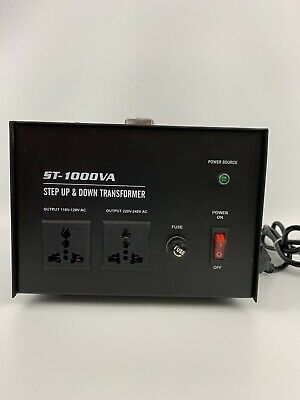 1000W Power Voltage Transformer Power Converter Step Up/Down 110-220V US BT