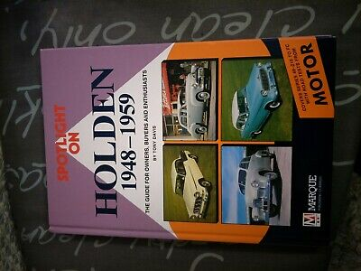 Holden 1948 - 1959 enthusiasts book