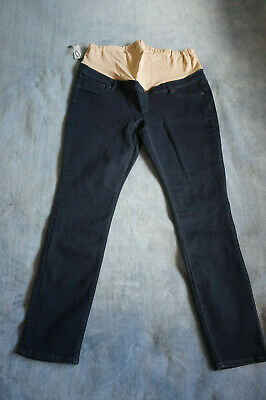 Jeans West Sz 18 Maternity  Skinny Jeans Brand New Dark Denim