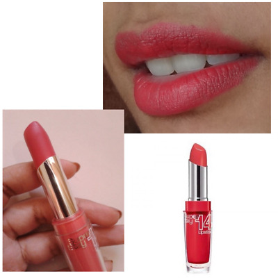 MAYBELLINE SUPERSTAY  14hr LIPSTICK - STAY WITH ME CORAL - 430 - 3.5g