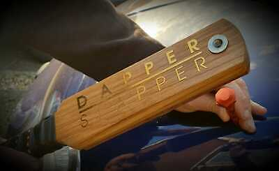 Dapper PDR, paintless dent removal Oak paddle hammer, knock down tool