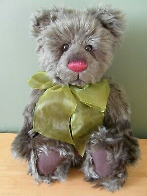 """Charlie Bears IVY 12"""" Plush Bear (2011) QVC Exclusive Secret Collection *NEW*"""