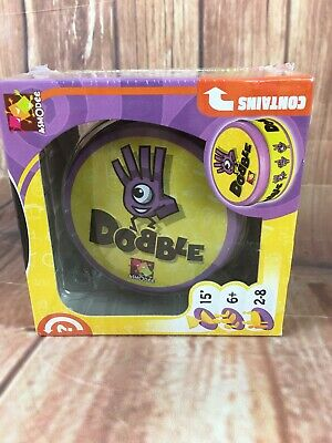 DOBBLE The Award Winning Visual Perception Card Game For Kids & Family SEALED