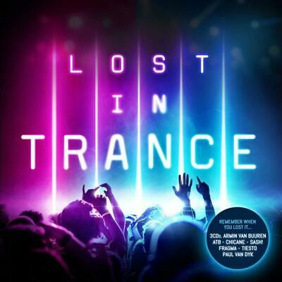 LOST IN TRANCE 3 CD set various artists Tiesto ATB Chicane 2018