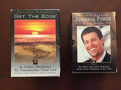 Anthony Robbins  Get The Edge & Personal Power Cd's