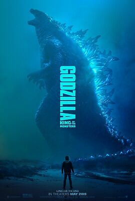 GODZILLA KING OF THE MONSTERS 2019 New Orig D/S Adv. Movie Poster 27x40