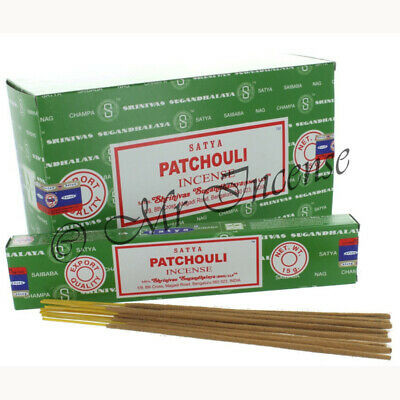 Satya Genuine Nag Champa Incense joss sticks 15gr box from 99p Variety of Scents
