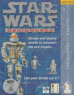 Pc Game Star Wars Droidworks *Brand New & Sealed!*