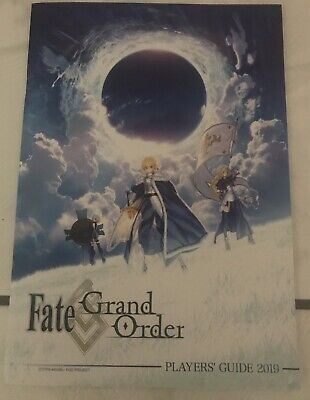 NEW ANIME EXPO AX Fate / Grand Order Game Players Guide