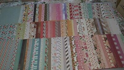Joblot, 130, A5 (& US equivalent sized) Decorative Paper, card making, crafting.