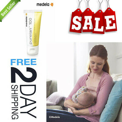 Medela Purelan Lanolin Nipple Cream 37G Provides Instant Soothing Relief Durable