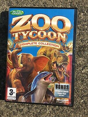 ZOO TYCOON COMPLETE Collection for PC (CD Game) - £13 51