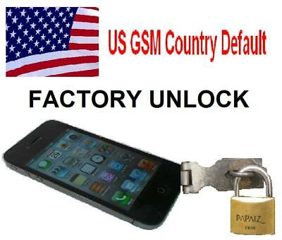 iPhone Unlock US GSM Country Default Policy - All Models