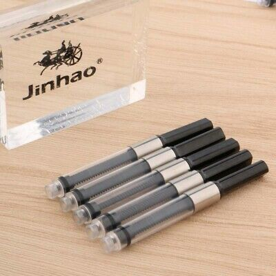 5pc Jinhao Ink metal Black with fit for big 3.4mm Fountain Pen Ink Converters