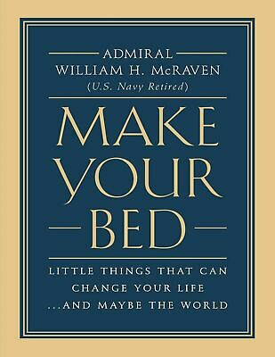 Make Your Bed: By William H. McRaven (Ebook,PDF,2017,Best Seller)