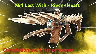 XB1 Destiny 2 - Last Wish One Thousand Voices Help - Riven and Heart