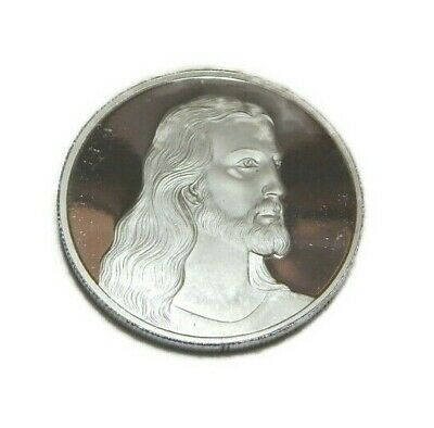 Jesus Christ .999 Pure Silver 1 Ounce Coin