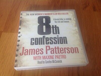 8th Confession: (Women's Murder Club 8) by James Patterson (5 Disc CD Audiobook)