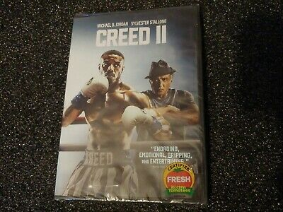Creed II 2 (DVD 2019 Single Disc Edition) Michael B. Jordan, Stallone Sealed