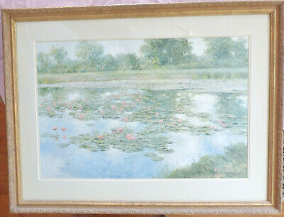 """VIVIAN  HOLLAN SWAIN """"The Enchanted Pond"""", Signed Limited Edition Print"""