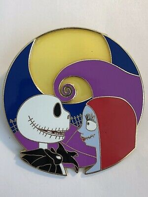 Disney Nightmare Before Christmas Sally Jack Starring At Each Other Fantasy Pin