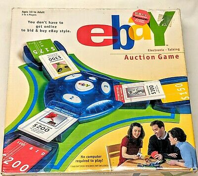 The Real EBAY Auction Electronic Talking Party Game FUN! Parker Brothers