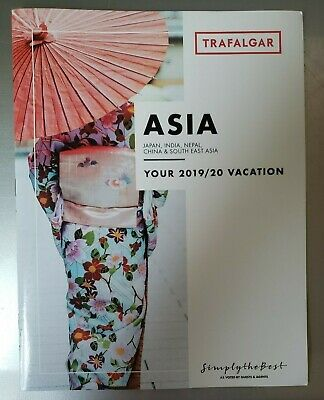 ASIA 2019 & 2020 Trafalger Vacation Brochure NEW 59 pages