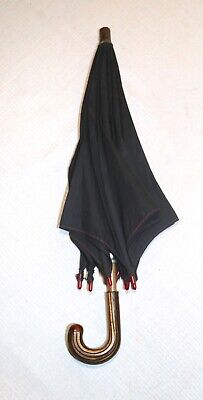 RARE antique miniature mini child bakelite celluloid embrella parasol black