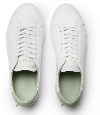 638dfedd2127c NEW! GIVENCHY Urban Street White Red Sneaker Mens Size 42.5 Eur ...