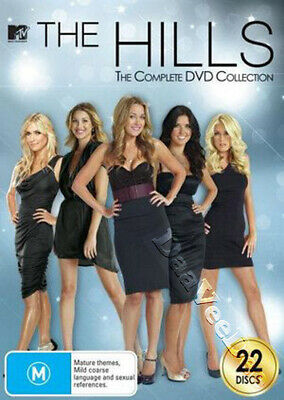 The Hills - Complete Collection NEW PAL Cult 22-DVD Box Set Audrina Patridge
