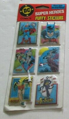 1980s Marvel Comics Super Heroes Puffy Stickers Henry Gordy International