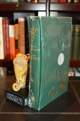 THE HOBBIT by JRR Tolkien DELUXE Slipcase Collector's Edition SEALED