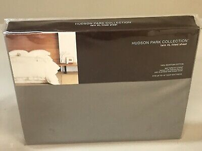 Hudson Park FULL Fitted Sheet 600 TC 100/% Egyptian Cotton TRUFFLE BROWN A467
