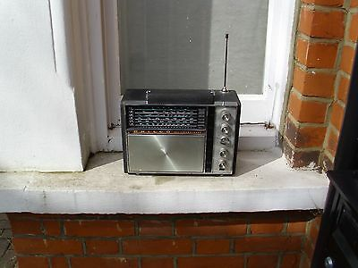 VINTAGE PHILCO TRANSISTOR Radio #T500 Untested ( Parts or