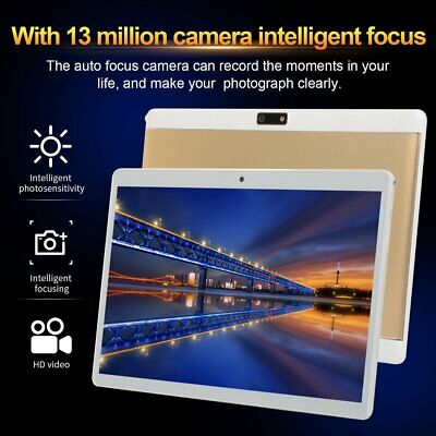 """HD Shot 10.1""""Deca-Core Android 8.1 Tablet Dual Card 4GB+64GB  Wi-Fi 4G E9"""