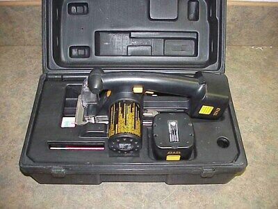 Panasonic Cordless Metal Cutter EY3502 Saw w/Case Manual Extra Battery EY 3502