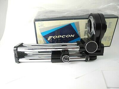 Topcon Double Rail Bellows #3 Mint In Box With Plastic Bag Unused