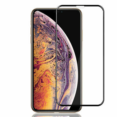 3D Nuglas Full Cover Tempered Glass Screen Protector for iPhone X XS XR XS MAX