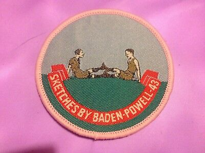 Girl Guides / Scouts Sketches by Baden Powell 43