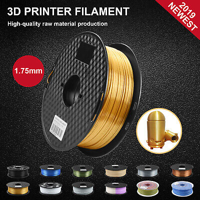 1.75mm 3D Printer Silk Shiny Filament PLA 2.2 LBS 1KG Spool Creality 3D Filament