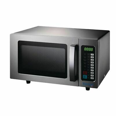 Birko Commercial Microwave 1200325 Oven Programmable Stainless Steel