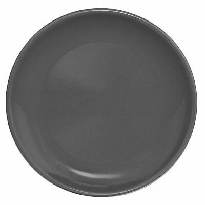 """Olympia Cafe Coupe Plate Charcoal Stoneware 205(Ø)mm / 8"""" Pack Quantity - 12"""